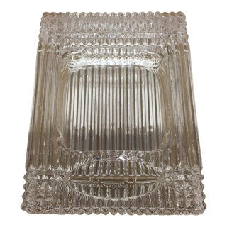 Crystal Cigar Ashtray For Sale