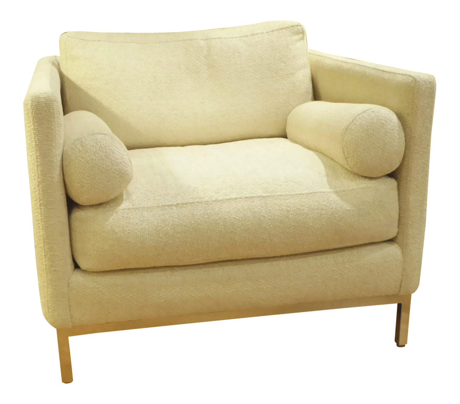 Superior Modern U0026 Smart Florence Knoll Style Armchair By ICF 1960s .