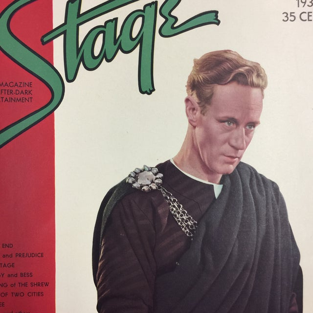 Contemporary 1935 Leslie Howard Stage Magazine For Sale - Image 3 of 4
