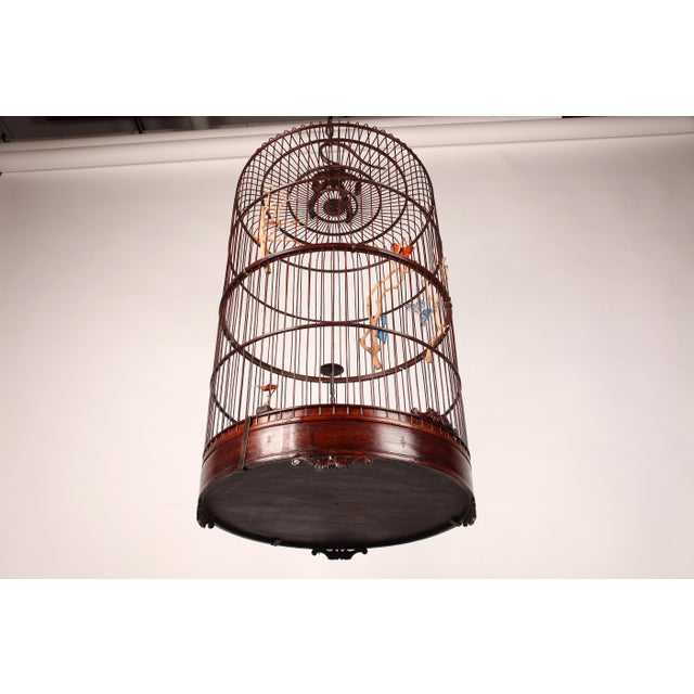 Early 20th Century Early 20th Century Chinese Bamboo Cage For Sale - Image 5 of 8