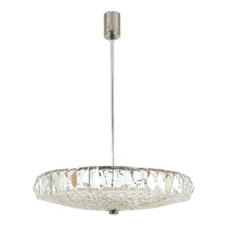 Beautiful Bakalowits Dome Crystal Glass Chandelier For Sale