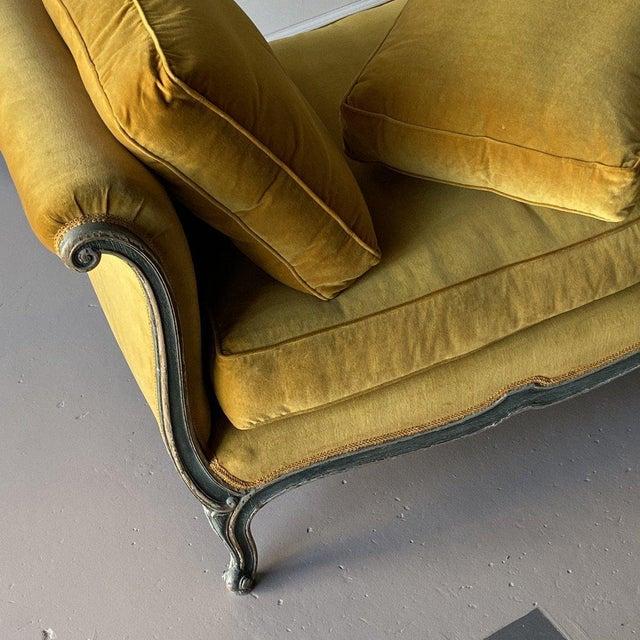 Textile 19th Century Venetian Recamier For Sale - Image 7 of 13