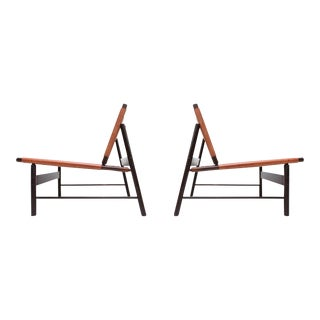 Jorge Zalszupin Pair of Lounge Chairs
