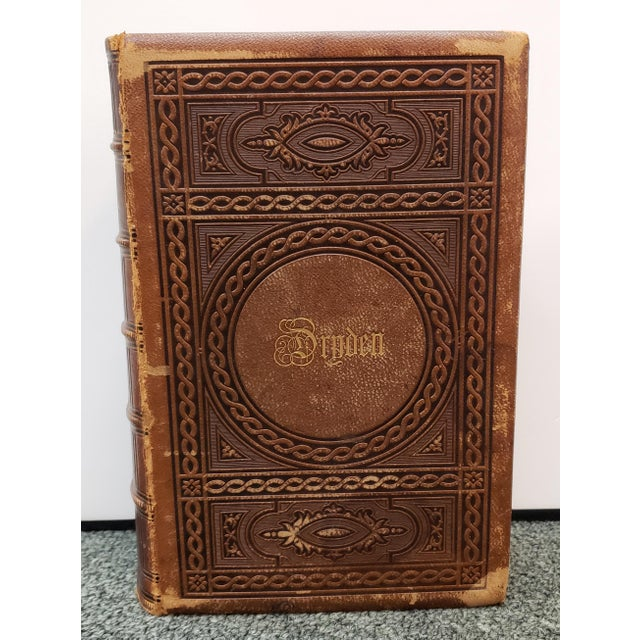 """Up for sale is a """"The Poetical Works of John Dryden"""" Book by Rev. George Gilfillan (1857)! It measures 8 11/16"""" tall, 6..."""
