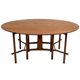 Heritage Henredon Gateleg Table For Sale
