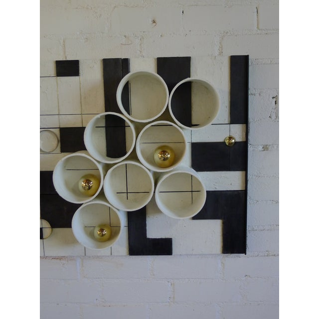 Contemporary Modern Frieze Three-Dimensional Wall Art by Paul Marra For Sale - Image 3 of 9