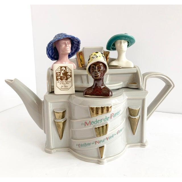 Vintage Richard Parrington Novelty Teapot Mode De Paris For Sale - Image 13 of 13