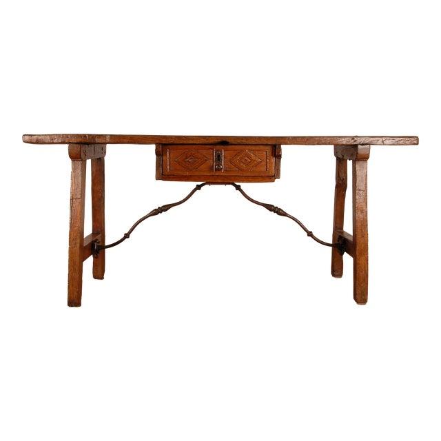 Antique Renaissance Spanish Console Table For Sale
