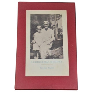 A Christmas Memory Truman Capote Limited Edition For Sale