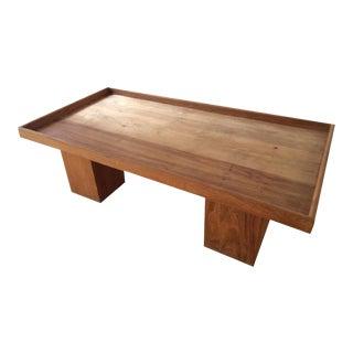 Handmade Indonesian Teak Wood Loft Coffee Table