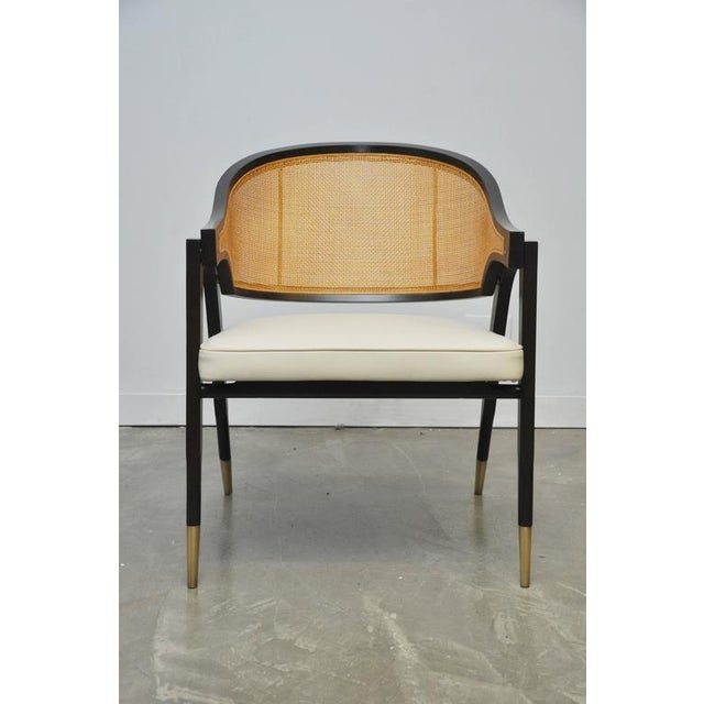 Captain Armchair by Edward Wormley for Dunbar For Sale In Chicago - Image 6 of 7