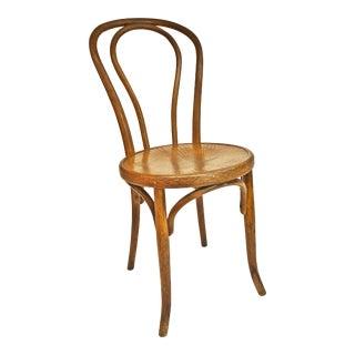 Vintage Bentwood Bistro Chair by Fischel