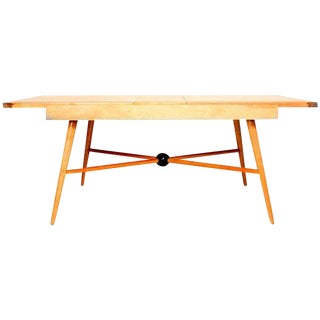 Mid-Century Modern Maple Table Attributed to McCobb For Sale
