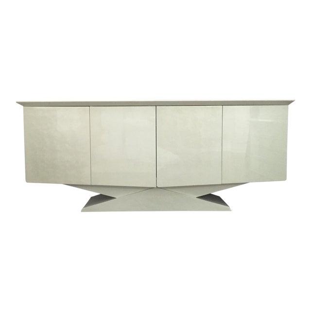 Modern Ello Inspired Art Deco Modern Lacquer Credenza - Image 1 of 10