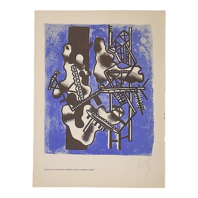 Vintage Leger Lithograph For Sale
