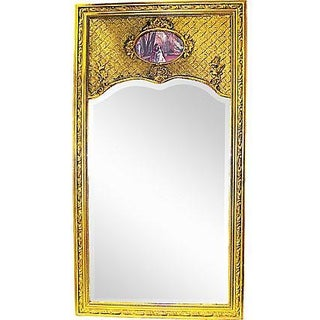 19th C. French Trumeau Mirror For Sale