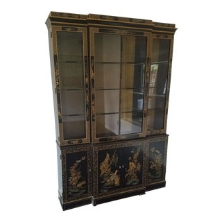 Drexel Heritage Et Cetera Collection Asian Chinoiserie Cabinet For Sale