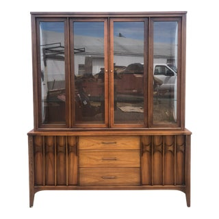 Mid Century Modern Kent Coffey Perspecta China Cabinet For Sale