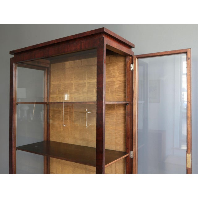 Lingel Workshop Art Deco Display Cabinet by Károly Lingel For Sale - Image 4 of 9