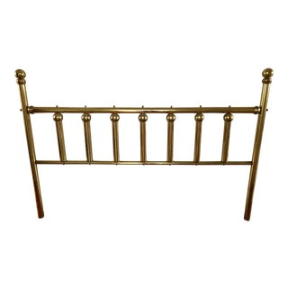Vintage Brass King Headboard