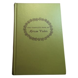 1953 The Complete Book of African Violets