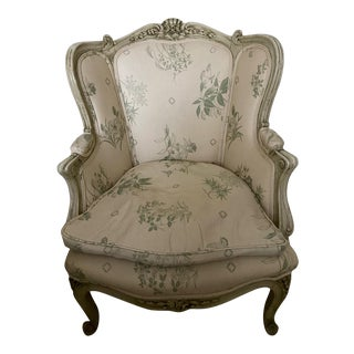 19th Century Vintage French Rococo Chair For Sale