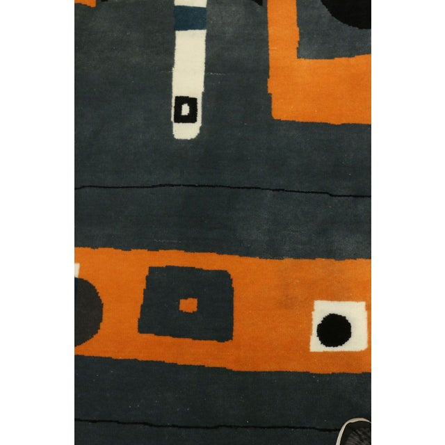 Hand Knotted Mid Century Rug - 8' X 10' - Image 2 of 5