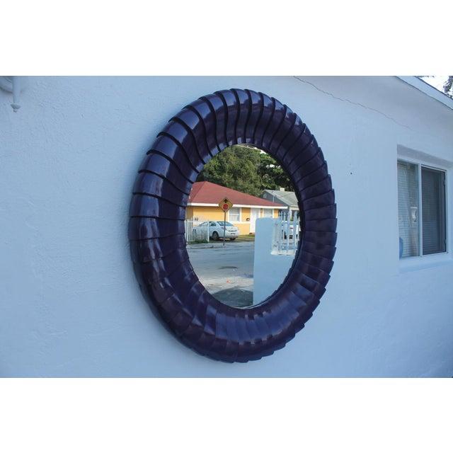 Sunburst Purple Wall Mirror - Image 4 of 11
