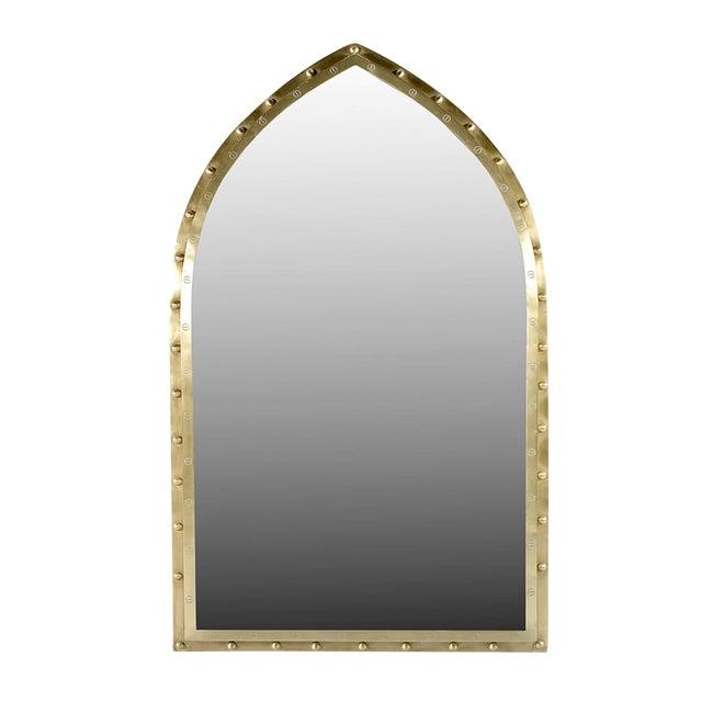 Moorish Brass Mirror For Sale