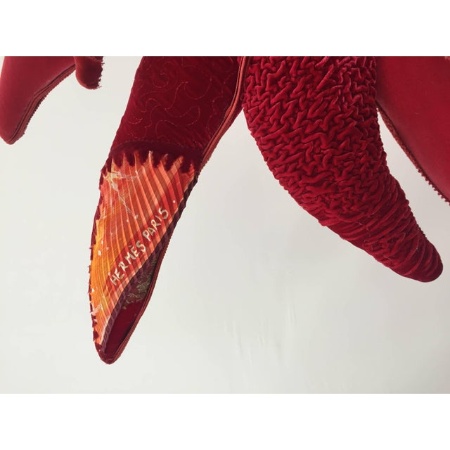 Textile Sculptural Chair by Carla Tolomeo, Italy For Sale - Image 7 of 10