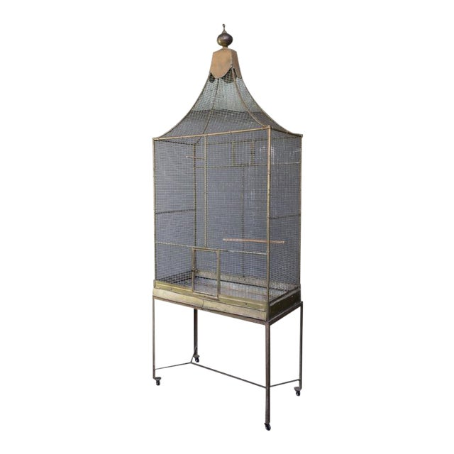 Large French Bird Cage - Image 1 of 10