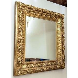 19th Century Baroque Foliate Giltwood Mirror Preview