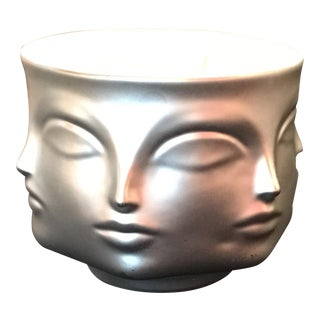 "Jonathan Adler ""Muse D'argent"" Silver Muse Candle"
