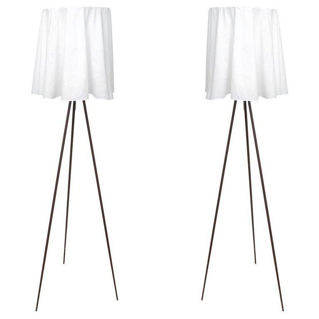 Rosy Angelis Floor Lamps by Philippe Starck for Flos - a Pair For Sale - Image 11 of 11