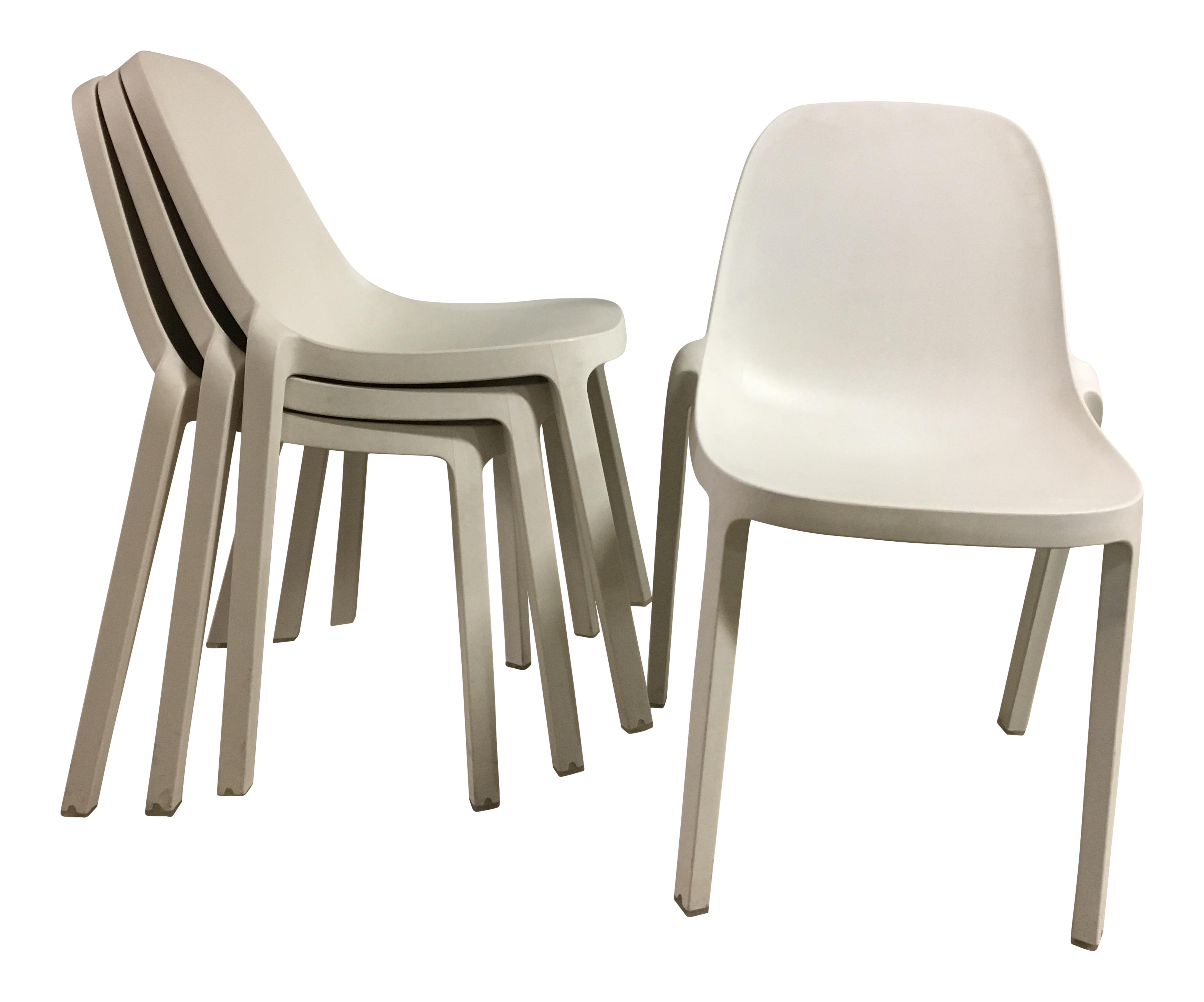 Philippe Starck For Emeco Broom Chairs   Set Of 4
