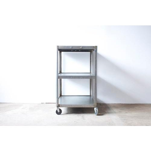 Industrial Metal Rolling Cart - Image 3 of 5