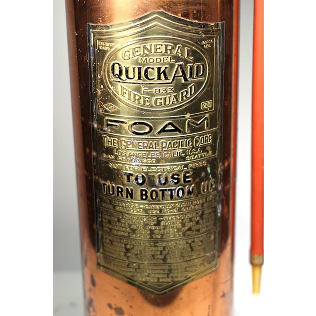 Brass and Copper Fire Extingusher - Image 3 of 3