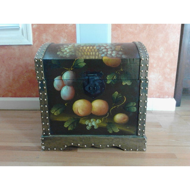 Hand-Painted Storage Chest - Image 2 of 7