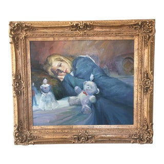 20th Century Oil Painting For Sale