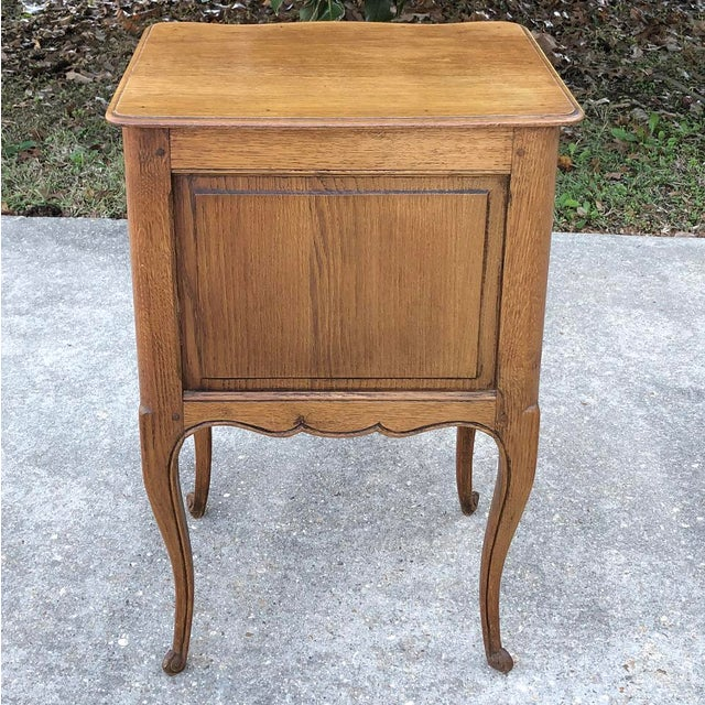Antique Country French Chestnut Commode For Sale - Image 9 of 10