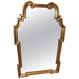 Labarge Hollywood Regency Gilt Mirror For Sale