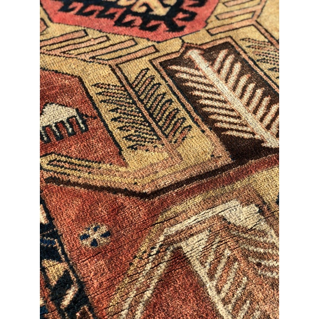 1950s Vintage Persian Sarab Runner Rug - 3′1″ × 10′2″ For Sale - Image 9 of 13