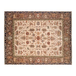 "New Indian Serapi Design Carpet - 11'11"" X 15'3"" For Sale"