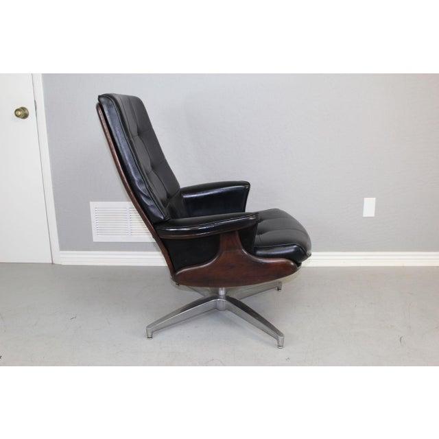 Heywood Wakefield Lounge Chair And Ottoman Chairish