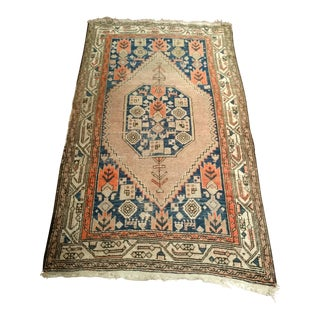 "Tribal Kurdish Rug - 3' 7"" X 5' 8"""