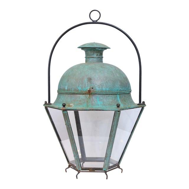 Large Early 20th Century Avignon Lantern For Sale