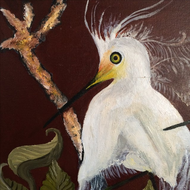 """Birds of a Feather"" Original Oil Painting - Image 6 of 7"