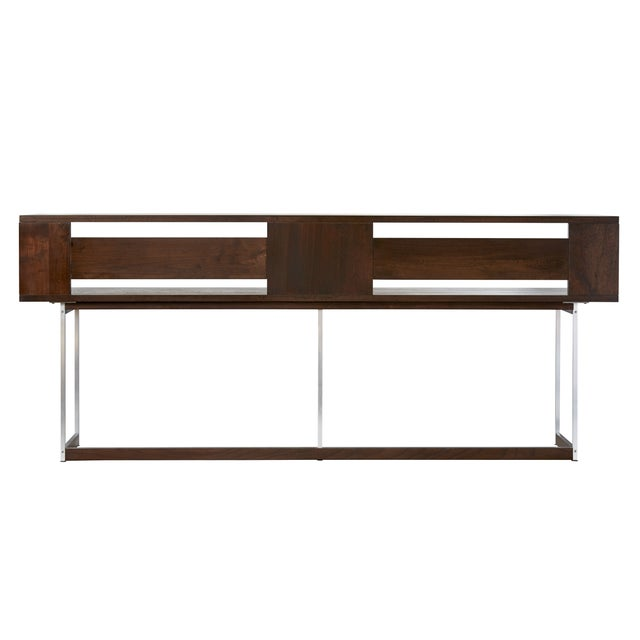 Ultralitebox Credenza / Console in Solid Walnut - Image 2 of 4
