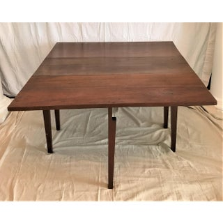 Ca 1850 American Hand Crafted Solid Walnut Dining Table Preview