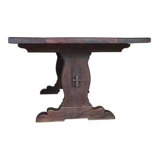 El Paso Imports Trestle Table